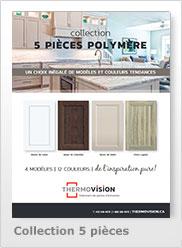Collection 5 pièces polymère