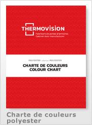 Charte de couleur polyester 2021