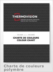 Charte de couleur polymère 2021