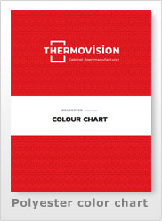 2021 Polyester color chart